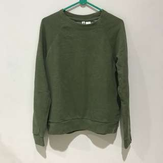 H&M Army Sweater