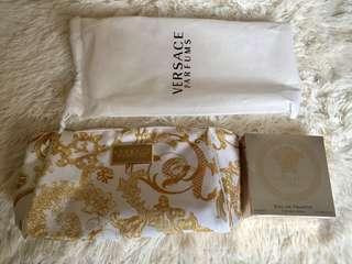 🚚 精裝組Versace 凡賽斯 香水50ml 含手拿袋