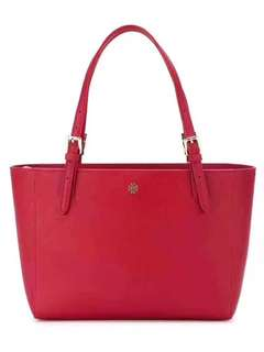 Tory Burch Tote Bag (red /navy)