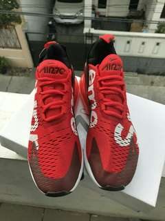 nk air max s70 x supreme red color