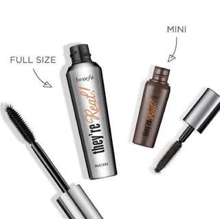 Full Size They're Real! Lengthening Mascara