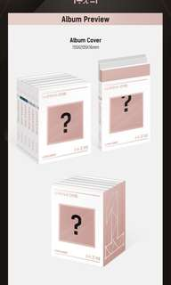 wanna one undivided albums