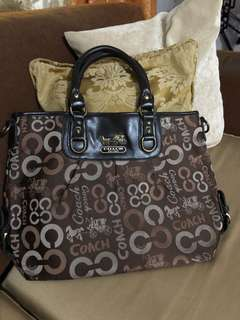 Authentic Coach large tote