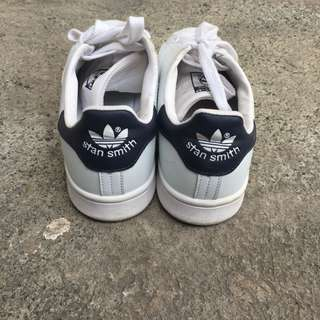 Stan Smiths White/Navy Blue