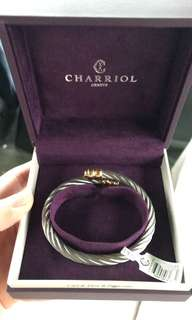 Charriol Bangle Two-toned Bracelet