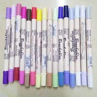 Zig kuretake brushables brush pens