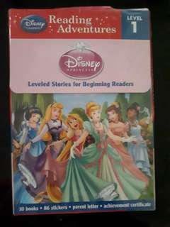 Disney princess preschool readers
