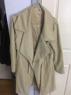 Fashion nova lightweight nude Jacket