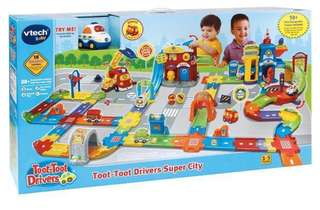 (100%New)Toot-Toot Drivers Super City