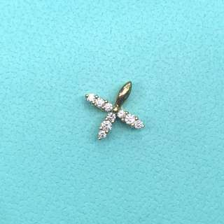 18K diamond pendant 鑽石吊墜