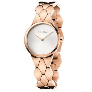 SNAKE ROSE GOLD TONE STAINLESS STEEL LADIES' WATCH K6E23646