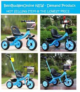 Kids Tricycle / 3 wheeled bicycle