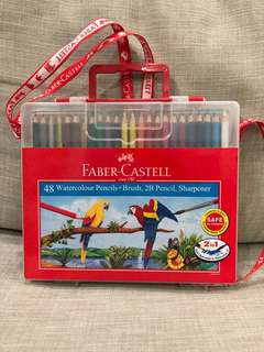 Faber Castell Colour Pencils 48L in Wonder Box