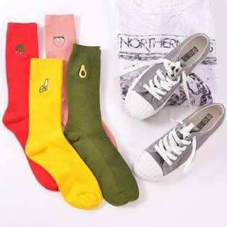 [PO] Cute Fruit Socks