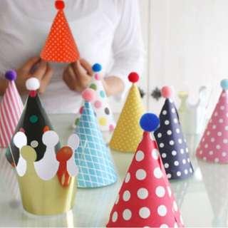 (In stock)Kids Party Hat set (11pcs)
