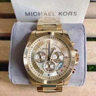 MK Brecken Gold Chronograph