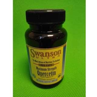 高效洋蔥素 (濕疹)(糖尿病)(心律不正)(防癌四寶)Swanson Quercetin 五羥黃酮