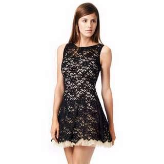 (FREE NM) European Slim Fit OL Sleeveless Vest Dress