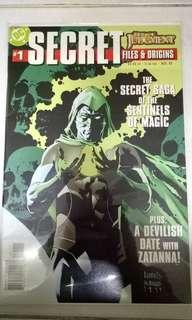 DC COMICS SECRET FILES & ORIGINS #1