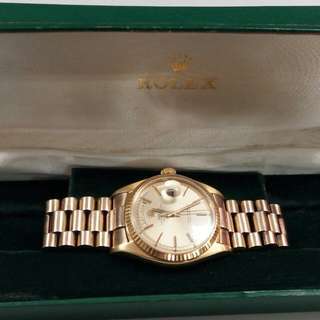 Vintage Rolex all Gold