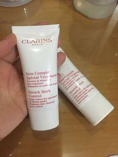 Clarins strech mark control
