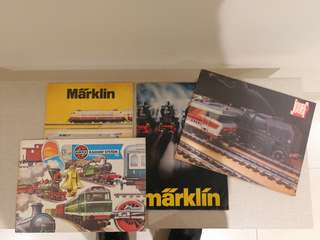 Vintage toy trains catalogue
