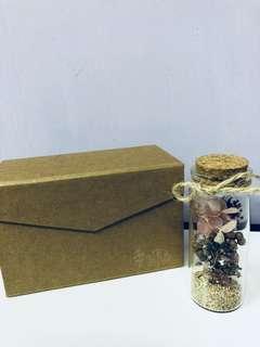 全新幸運乾燥花瓶(附盒)