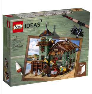 Lego Ideas Old Fishing Store 21310
