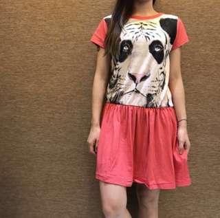 🇯🇵日本BRAND🇯🇵 RNA MEDIA 粉紅 PINK OP 連身裙  #mayflashsale