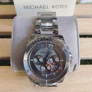 MK Brecken Grey Chronograph