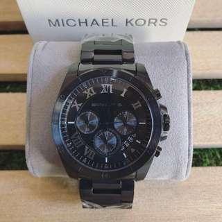 MK Brecken Black Chronograph