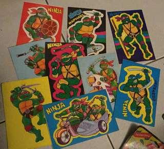 Stickers Ninja Turtles