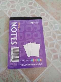 Notes White