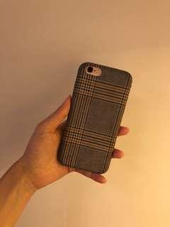 iphone 6 6s 格紋 phone case