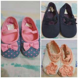 Preloved Baby Shoes (11.5 cm) for TAKE ALL