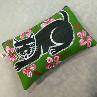 Handpainted Pouch
