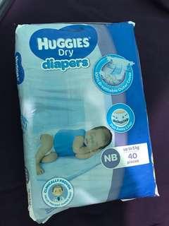 Huggies Dry newborn