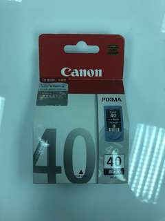 CANON PIXMA PG-40 black ink cartridge printer