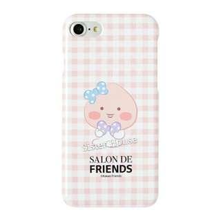 (包郵)🇰🇷Kakao Friends Apeach Check Hard Phone Case 手機硬殼