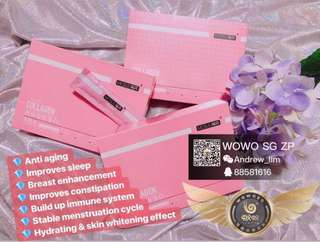 Wowo collagen jelly ( collagen ) ( birdnest )