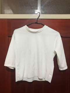 🚚 白色針織短袖