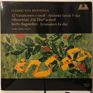 Beethoven Piano 32 Variations Fur Elise Andor Foldes HELIODOR 89514