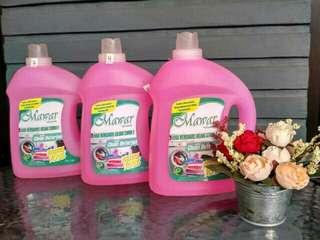detergent cair mawar by wardah ( 1lt + ekstra 10%)