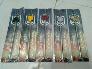 Justice league straw 711