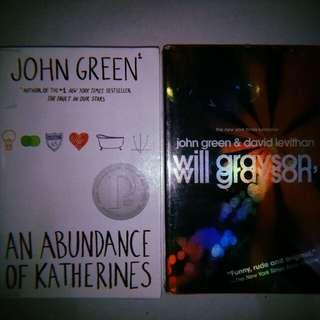 Novel Books Bundle by John Green
