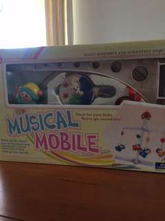 Musical mobile for babies