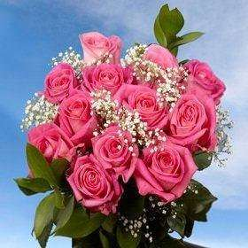 Flower bouquet / pink roses / surprise delivery gifts