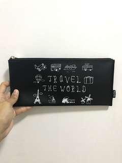 "Myuk ""Travel The World"" Pencil Case"