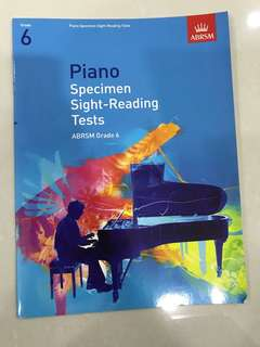 ABRSM Grade 6 Piano Specimen Sight-Reading Tests
