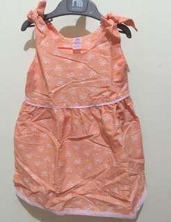 New Dress katun tali bahu